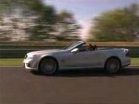 Video: Mercedes-Benz SL 63 AMG – s atmosférickým osmiválcem