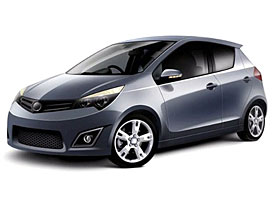 Geely CE: koncept hatchbacku dravé čínské značky