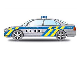 Nové barvy pro vozidla Policie ještě letos