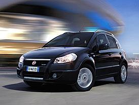 Fiat Sedici na českém trhu: dva motory, oba s pohonem 4x2 i 4x4