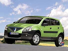 Spy Photos: Dacia Logan 4x4 - první fotografie muly