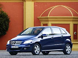 Mercedes-Benz: Třída B po faceliftu komfortnější a šetrnější k životnímu prostředí (nové foto)