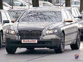 Spy Photos: Nové BMW řady 7 - transplantace větších ledvin (nové foto)