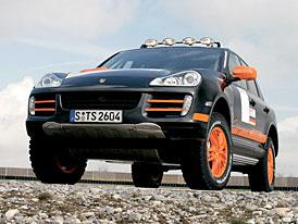 Porsche Cayenne S Transsyberia: off-road pro obtížnou soutěž