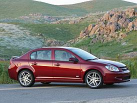 Chevrolet Cobalt SS Sedan: praktičtější příbuzný nabroušeného kupé