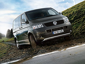 Volkswagen Multivan PanAmericana: s mikrobusem do terénu