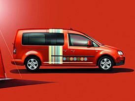 Volkswagen Caddy Maxi Tramper: ideální pro víkendové kempování