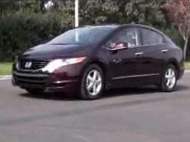 Video: Honda FCX Clarity � palivov� �l�nky na postupu