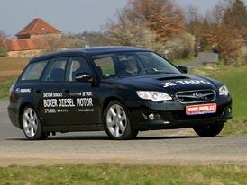 Subaru Legacy 2.0 D: první diesel v Legacy - jízdní dojmy