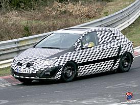 Spy Photos: Nový Opel Astra - opět až po Golfu