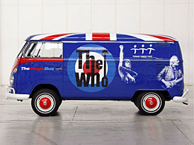 """The Who a Volkswagen: dobročinná soutěž o """"Magic Bus"""" T1 z roku 1965"""