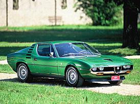 Historie automobilů Alfa Romeo ve fotografii (1950-2000)