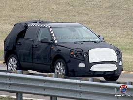 Spy photos: Saab 9-4X  - SUV z Mexika?