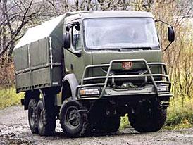 Arm�da pozastavila p�eb�r�n� vozidel Tatra kv�li z�vad�m