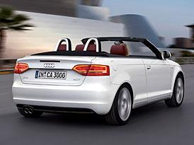 Audi A3 Cabrio: Otevřené Audi se stahovací střechou na českém trhu