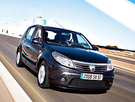 Dacia Sandero: ceny v Německu začínají na 7500 Euro