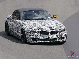 Spy photos: BMW Z4 - místo plastů folie, místo látkové střechy pevná skládací