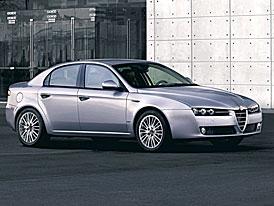 Alfa Romeo 159 po faceliftu: ceny na českém trhu od 599.000,- Kč