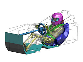 Vývoj Toyoty pracuje i na zvyšování bezpečnosti závodních vozů
