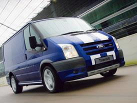 Ford Transit nyní se zárukou 5 let/200.000 km na mechanické části