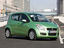 Suzuki Splash: ceny na českém trhu od 219.900,- Kč