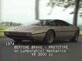 Video: Lamborghini Bravo – koncept studia Bertone