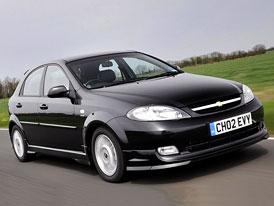 Chevrolet Lacetti: sportovní provedení pro britský trh