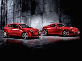 Alfa Romeo Mi.To: první foto interiéru a srovnání s 8C Competizione