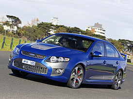 Ford Falcon FPV GT: ostrá verze australského sedanu nastupuje