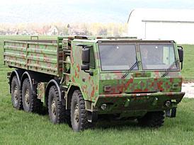 Tatra T 815-7: poprvé s digitální kamufláží