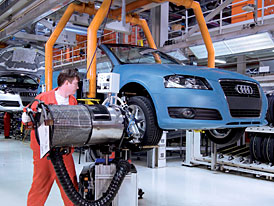 Audi bude stavět plnohodnotnou automobilku v Maďarsku a ne v USA