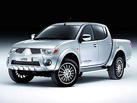 Mitsubishi L200 Walkinshaw Performance: bohatší výbava pro britský trh