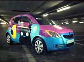 Video: Opel Agila – vhodný prostor pro graffiti