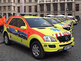Pražská záchranka bude jezdit Mercedesy ML 280 CDI