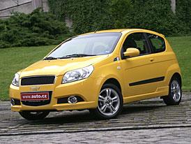 Chevrolet Aveo: První jízdní dojmy