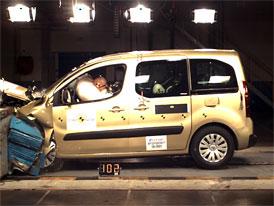 Euro NCAP: Citroen Berlingo - se čtyřmi hvězdami i bez bočních airbagů