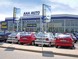 AAA AUTO prodalo v prvn�m pololet� 35.400 vozidel