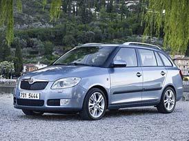 �esk� trh v roce 2009 (mal� vozy): Fabia prvn�, ale s obrovsk�m propadem, Fusion dovozovou jedni�kou