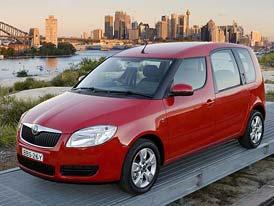 Český trh v roce 2008: V kategorii MPV je první Škoda Roomster