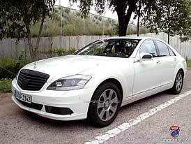 Spy Photos: Nový make-up pro hvězdu - inovovaný Mercedes-Benz třídy S (nové foto)