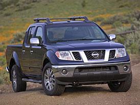 Nissan Frontier: modernizace pro modelový rok 2009