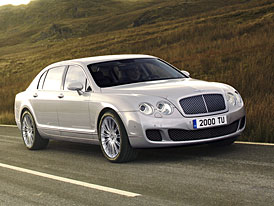 Bentley Continental Flying Spur: Modelový rok 2009 a silnější Speed