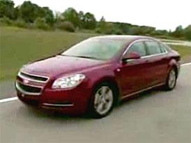 Video: Chevrolet Malibu – severoamerické auto roku v pohybu