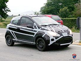 Spy Photos: Ford Ka - druhé Ka jako příbuzný Fiatu 500 je tady (nové foto)