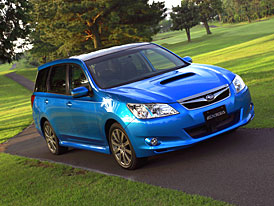 Subaru Exiga: prvn� fotografie a informace