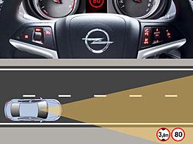 Opel představí v modelu Insignia nový systém rozpoznávání značek