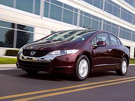 Honda FCX Clarity: Výroba a prodej aut s palivovými články realitou
