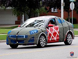 Spy Photos: Mazda 3 pečlivě zabalena