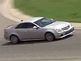Video: Cadillac CTS-V – testování na okruhu v Michiganu
