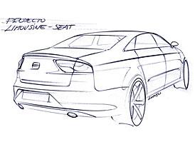 Nový sedan značky SEAT se bude jmenovat EXEO